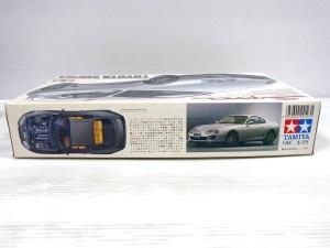 トヨタ スープラの箱の側面。商品説明などが書かれている。