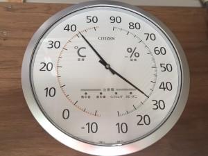 ガレージ内の温度01