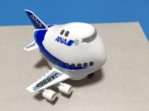 ハセガワ たまごヒコーキ 60505 ANA ボーイング747-400D 完成02