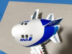 ハセガワ たまごヒコーキ 60505 ANA ボーイング747-400D 完成03
