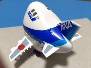 ハセガワ たまごヒコーキ 60505 ANA ボーイング747-400D 完成05