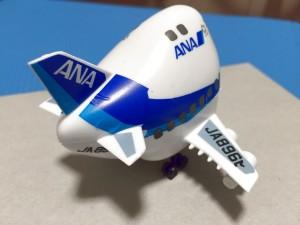 ハセガワ たまごヒコーキ 60505 ANA ボーイング747-400D 完成04