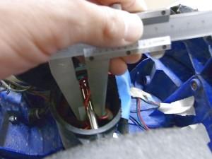 インプレッサタイヤ交換の為測定04