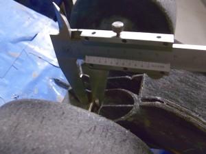 インプレッサタイヤ交換の為測定07