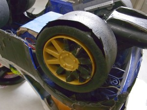 インプレッサタイヤ交換の為測定08