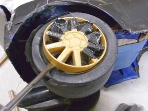 タイヤ交換前のホイール外し01