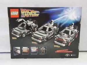 LEGO 21103 バック・トゥ・ザ・フューチャーのレゴ。箱画像。