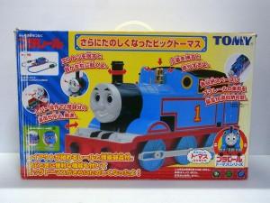 プラレール|さらにたのしくなったビッグトーマスの箱。トーマスが写っている。