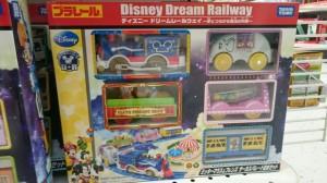 ミッキーマウス&フレンズ サーカスパレード貨車セットの画像。ギミックがいっぱい。