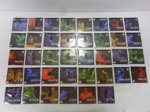 デアゴスティーニ ブルーノート ベスト ジャズコレクションのCD。様々なジャケット写真が見える。