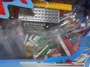 LEGO Sail N' Fly Marina ブロック画像。カラフルなブロックが詰まっている。