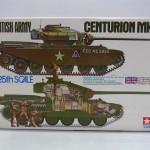TAMIYA 1/25 イギリス戦車 センチュリオン Mk.III (ディスプレイキット)
