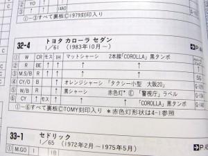 トヨタ カローラ セダン パトロールカー 警視庁 (№ 32-4-5)