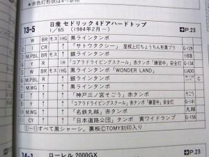 ニッサン セドリック 教習車 (コアラ ドライビングスクール 1) (№ 13-5-4)