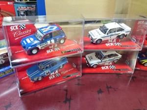 SCX スロットカー ラリー1