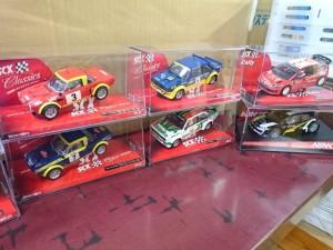SCX スロットカー ラリー2