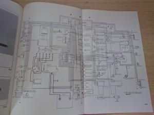 トヨタ 2000GT 修理書 配線図