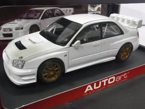 オートアート 1/18 インプレッサ WRC2003