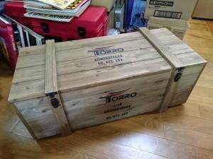 TORRO TG3888 1/16 キングタイガー 外箱 木箱