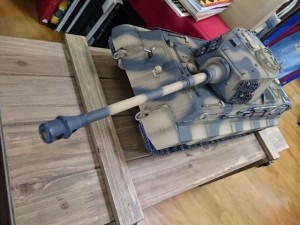 TORRO 1/16 キングタイガー(ティーガーII) RC戦車 買取致しました。