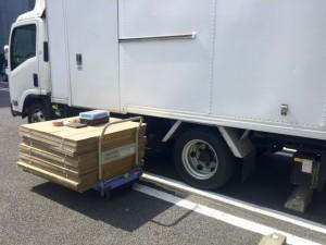 3トントラックで静岡県沼津市までプラモデル出張買取