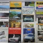 自動車カタログ 1970年代 日産 タクシー仕様など買取させていただきました