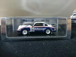スパーク 1/43 porsche 911 SCRS COstaBrava Rally 1984