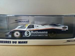 スパーク ポルシェ 956 LM 優勝 1983