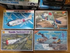 ニチモ 1/48 航空機プラモデル 絶版