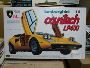 フジミ 1/16 ランボルギーニ カウンタック LP400