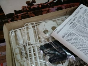 SKIF 1:35 T-80 キット