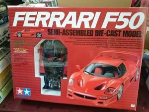 タミヤ 1/12 フェラーリ F50 セミアッセンブル