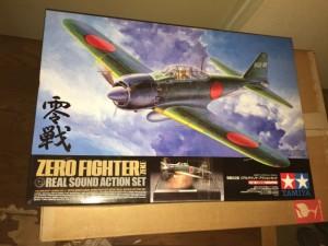 タミヤ1/32 ZERO FIGHTER ゼロファイター 零戦52型リアルサウンド アクションセット