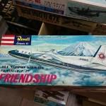 """マルサン・レベル FAIRCHILD F-27 """"FRIENDSHIP"""" 他 航空機プラモデルをお譲りいただきました"""