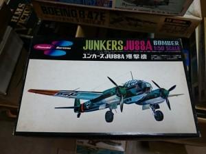 マルサン 1/50 ユンカース JU88A