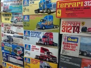 アーテル、モノグラム、イタレリ トレーラー トラック プラモデル まとめて買取 売りたい