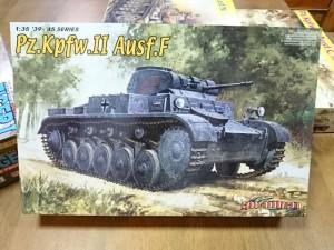 ドラゴン 1/35 Pz.Kpfw.II Ausf.F