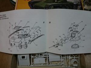 エアロプロスト 1/35 T-60 説明書