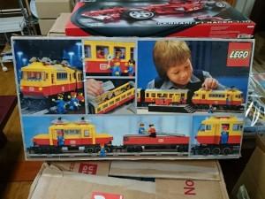 LEGO 7740 パッセンジャー トレイン  パッケージ 裏