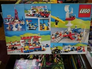 レゴ 6395  VICTORY LAP RACEWAY  1988  裏