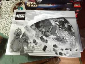 国内未発売品 LEGO 3724 ドラゴン