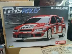 京商  ランサー EVO VII WRC  TR-15 RALLY