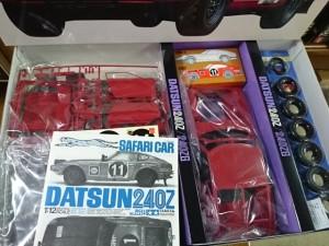 タミヤ 1/12 ダットサン 240Z サファリ仕様