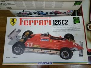 プロター 1/12 フェラーリ 126 C2