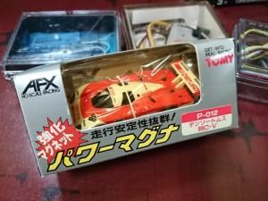 埼玉県ふじみ野市より AFX スロットカー をまとめてお譲り頂きました。