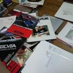 神奈川県鎌倉市より、自動車カタログをまとめてお譲りいただきました