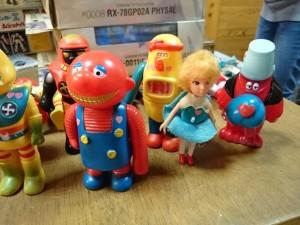ポピー ソフビ  ロボコン  ロボットがっこう   買取強化中