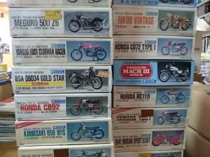 埼玉県草加市より グンゼ ハイテック 1/12 バイク プラモデル  他 まとめてお譲り頂きました。