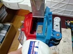 ミクロマン ロボットマン ビクトリー計画  電池