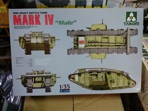 TAKOM タコム 1/35 マーク4 Mark.IV male 雄型